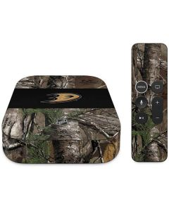Anaheim Ducks Realtree Xtra Camo Apple TV Skin