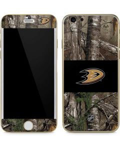 Anaheim Ducks Realtree Xtra Camo iPhone 6/6s Skin