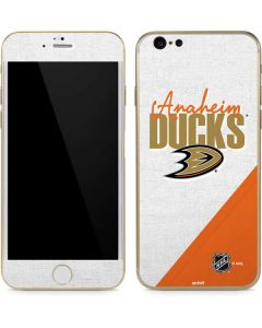 Anaheim Ducks Script iPhone 6/6s Skin