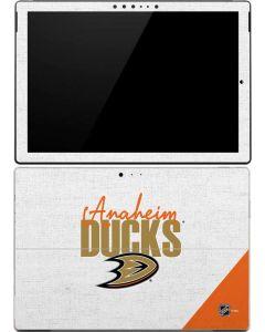 Anaheim Ducks Script Surface Pro 4 Skin