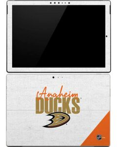 Anaheim Ducks Script Surface Pro (2017) Skin