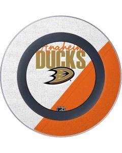 Anaheim Ducks Script Wireless Charger Skin