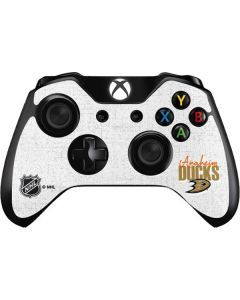 Anaheim Ducks Script Xbox One Controller Skin