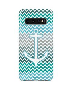 Anchor of Love- Aqua Galaxy S10 Lite Case