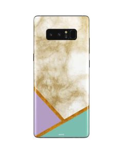 Angled Marble Galaxy Note 8 Skin