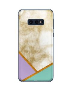 Angled Marble Galaxy S10e Skin
