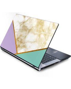 Angled Marble Generic Laptop Skin
