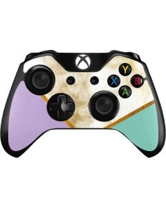 Angled Marble Xbox One Controller Skin
