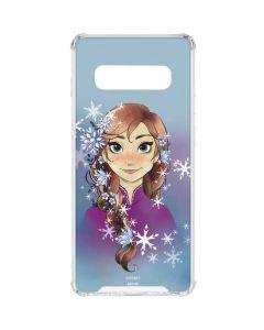 Anna Portrait Galaxy S10 Clear Case