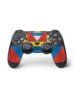 Antigua and Barbuda Flag Distressed PS4 Pro/Slim Controller Skin