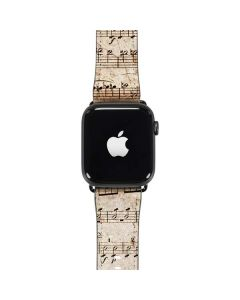 Antique Notes Apple Watch Band 42-44mm