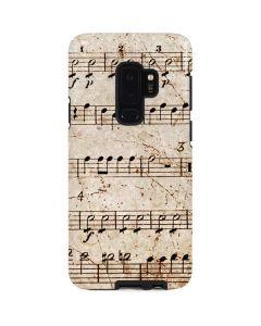 Antique Notes Galaxy S9 Plus Pro Case