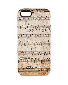 Antique Notes iPhone 5/5s/SE Pro Case