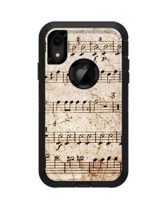 Antique Notes Otterbox Defender iPhone Skin