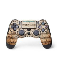 Antique Notes PS4 Pro/Slim Controller Skin