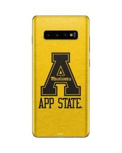 App State Yellow Galaxy S10 Plus Skin