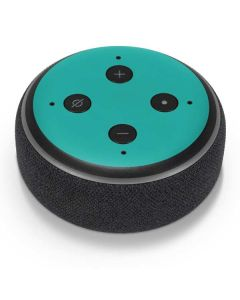 Aqua Blue Amazon Echo Dot Skin