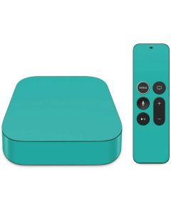 Aqua Blue Apple TV Skin
