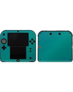 Aqua Blue Chameleon 2DS Skin
