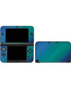 Aqua Blue Chameleon 3DS XL 2015 Skin