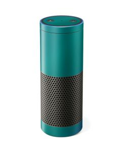 Aqua Blue Chameleon Amazon Echo Skin