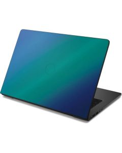 Aqua Blue Chameleon Dell Chromebook Skin