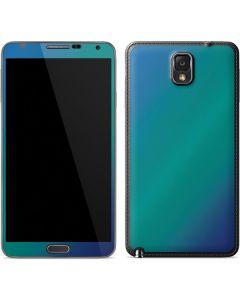 Aqua Blue Chameleon Galaxy Note 3 Skin