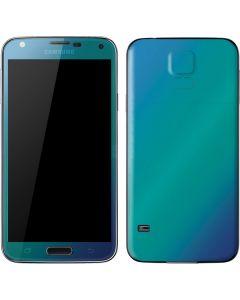 Aqua Blue Chameleon Galaxy S5 Skin