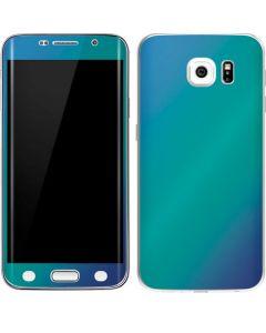 Aqua Blue Chameleon Galaxy S6 Edge Skin