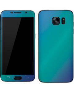 Aqua Blue Chameleon Galaxy S7 Skin