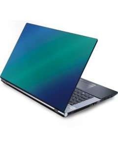 Aqua Blue Chameleon Generic Laptop Skin