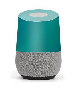 Aqua Blue Chameleon Google Home Skin