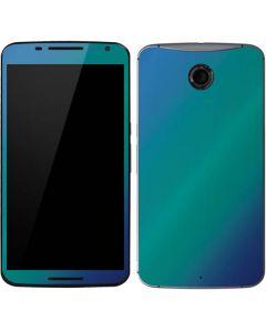 Aqua Blue Chameleon Google Nexus 6 Skin