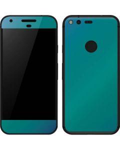 Aqua Blue Chameleon Google Pixel Skin