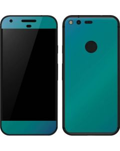 Aqua Blue Chameleon Google Pixel XL Skin