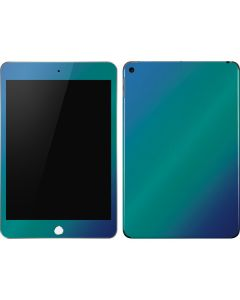 Aqua Blue Chameleon Apple iPad Mini Skin