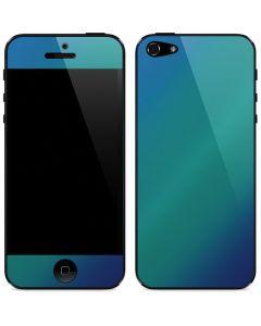 Aqua Blue Chameleon iPhone 5/5s/SE Skin
