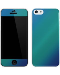 Aqua Blue Chameleon iPhone 5c Skin