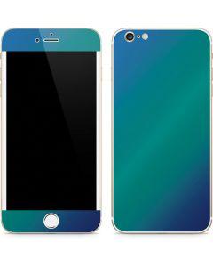 Aqua Blue Chameleon iPhone 6/6s Plus Skin