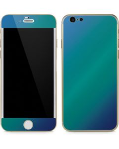 Aqua Blue Chameleon iPhone 6/6s Skin
