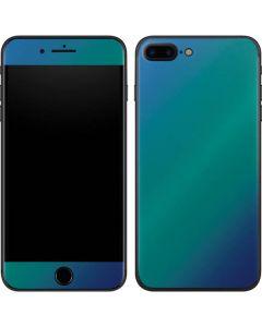 Aqua Blue Chameleon iPhone 7 Plus Skin