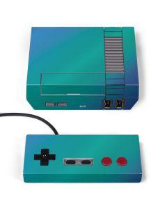Aqua Blue Chameleon NES Classic Edition Skin