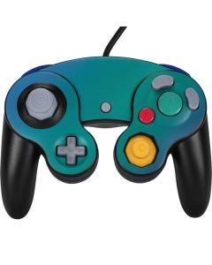 Aqua Blue Chameleon Nintendo GameCube Controller Skin
