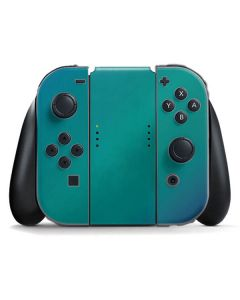 Aqua Blue Chameleon Nintendo Switch Joy Con Controller Skin