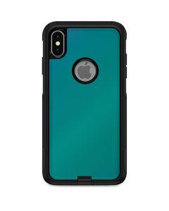 Aqua Blue Chameleon Otterbox Commuter iPhone Skin