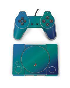 Aqua Blue Chameleon PlayStation Classic Bundle Skin