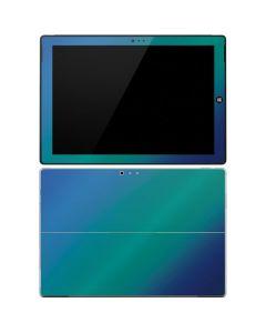 Aqua Blue Chameleon Surface Pro 3 Skin
