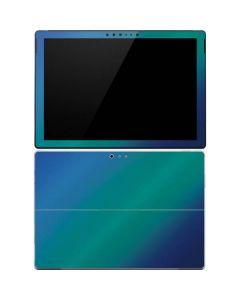 Aqua Blue Chameleon Surface Pro 4 Skin