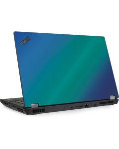 Aqua Blue Chameleon Lenovo ThinkPad Skin
