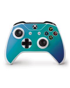 Aqua Blue Chameleon Xbox One S Controller Skin